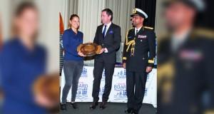 الاحتفال بتسليم جائزة السلطان قابوس للإبحار الشراعي بمملكة السويد