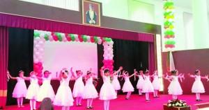 الاحتفال بختام الملتقى السنوي الثامن لطلبة وطالبات مدارس ولاية منح