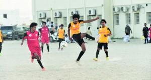 انطلاق بطولة دوري عمان بمدارس محافظة الوسطى