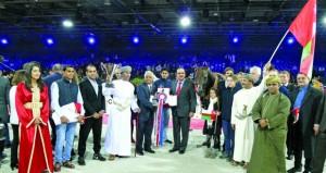 الخيالة السلطانية تفوز ببرونزيتين في كأس العالم لجمال الخيل بفرنسا