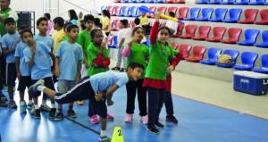 ختام ناجح ومثير لمسابقة الأيام الرياضية للمدارس الحكومية والخاصة والدولية
