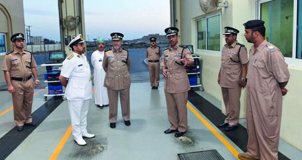شرطة عمان السلطانية تحتفل بافتتاح المبنى الجديد لمركز شرطة السويق
