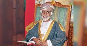 جلالة السلطان يهنئ أمير دولة الكويت