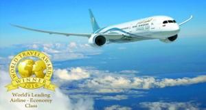 """الطيران العماني يحصد لقب """"الأفضل عن فئة الدرجة السياحية في العالم"""""""
