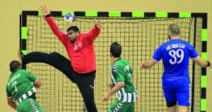 اليوم 3 مباريات في منافسات المجموعة الثانية لدرع الوزارة لكرة اليد