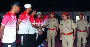 رئيس أركان قوات السلطان المسلحة يلتقي بالمنتخب العسكري لكرة القدم