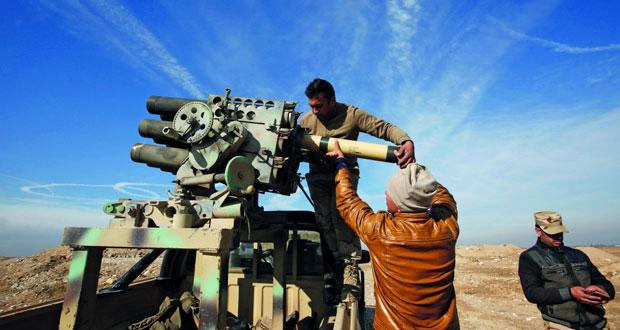 العراق يعلن بدء المرحلة الثانية من (معركة الموصل) .. وانهيار دفاعات داعش