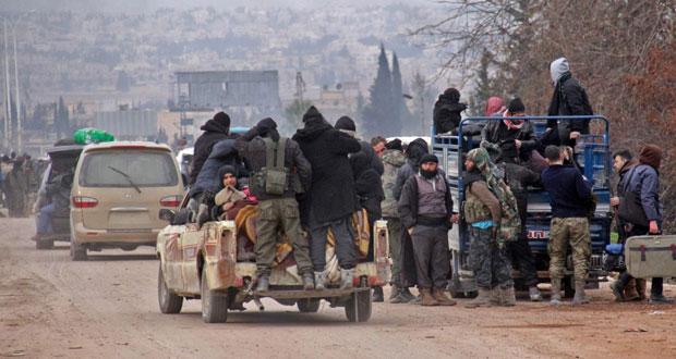 سوريا: الإرهابيون يفجرون مركزا للشرطة بـدمشق باستخدام طفلة