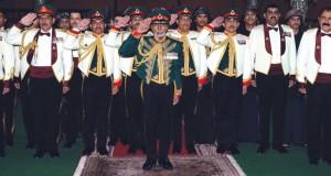 جلالة السلطان يقيم حفل عشاء بمناسبة يوم القوات المسلحة