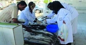 مشاريع لتطوير منظومة الأسواق السمكية في محافظات السلطنة