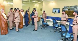 افتتاح مركز شرطة الوطية بمسقط