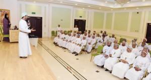 لقاء تعريفي لرؤساء اللجان الانتخابية البلدية