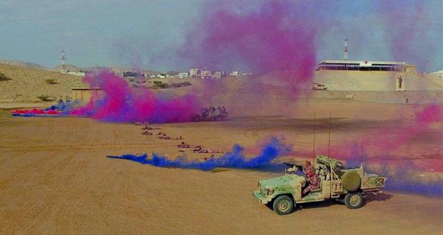 الجيش السلطاني العماني يحتفل بمناسبة ذكرى يوم القوات المسلحة