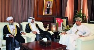 وكيل العدل يستقبل وفداً قضائياً من دولة قطر