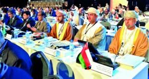 السلطنة تشارك بمؤتمر المنظمة الدولية للأجهزة العليا للرقابة المالية والمحاسبة في أبوظبي