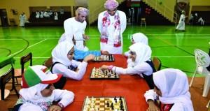 اختتام ناجح لفعاليات مهرجان الشطرنج بالمحافظات التعليمية