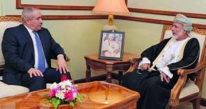 بحث أوجه التعاون الثنائي بين السلطنة والاردن وسبل تعزيزها في مختلف المجالات