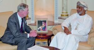 الأمين العام بوزارة الدفاع يستقبل المبعوث التجاري لرئيس الوزراء البريطاني