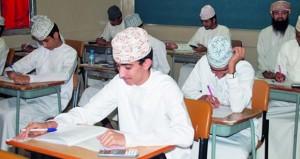 أكثر من 59 ألف طالبا وطالبة يؤدون امتحانات النقل بتعليمية مسقط