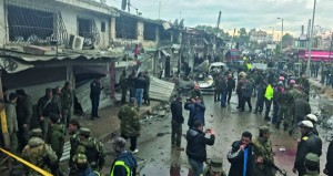 سوريا: عشرات القتلى والجرحى بانفجار إرهابي بـ( جبلة)