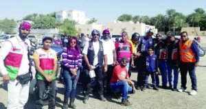 150 دراجا خليجيا وعربيا يحطون رحالهم في ولاية عبري