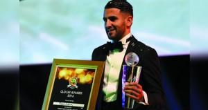 محرز يكمل الثلاثية بنيله جائزة أفضل لاعب في إفريقيا