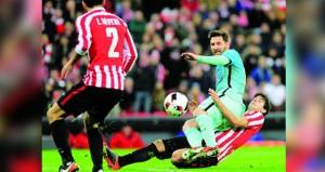 خسارة برشلونة أمام بلباو في كأس إسبانيا