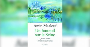 """أمين معلوف يقدم إصداره """"أريكة على نهر السين"""" بالفرنسية"""