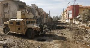 القوات العراقية تتوغل في أحد جيوب داعش بالموصل