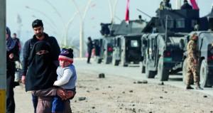 القوات العراقية تستعيد قضاء تلكيف وتلاحق الإرهابيين في آخر جيوبهم شرق الموصل