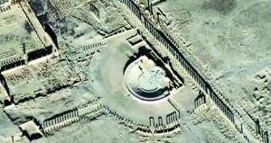 بتدمير واجهة المسرح الروماني والمصلبة .. الإرهابيون يمعنون في استهداف التراث الحضاري