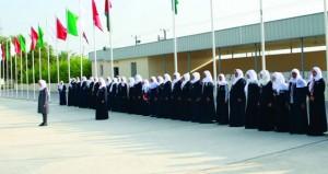 بدء فعاليات المخيم الشتوي الـ 20 للمرشدات بمخيم السلطان قابوس الكشفي بالملدة