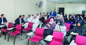 محاضرات للهيئة التدريسية والأطباء المقيمين المتدربين بالاختصاصات الطبية