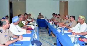 اللجنة الرئيسية المنظمة للمونديال العسكري تناقش الاستعدادات النهائية لحفل ختام البطولة