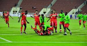 منتخبنا العسكري يتخطى نظيره المصري ويلاقي قطر في النهائي