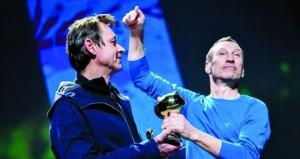"""جائزة مهرجان الرسوم المتحركة بفرنسا للثنائي البلجيكي """"أريك لامبي"""" و""""فيليب دبيربون"""""""