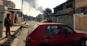 القوات العراقية تُطَهِر (حي الميثاق) وتسيطر على طريق الموصل كركوك