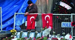 تركيا: داعش يتبنى اعتداء اسطنبول وأنقرة تواصل ملاحقة منفذه