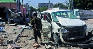 الصومال: مقتل 3 في هجوم بسيارة ملغومة على مقر قوات حفظ السلام