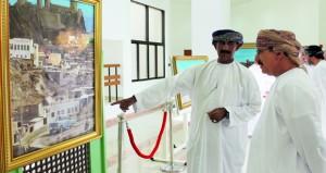 افتتاح المعرض الشخصي للفنان أيوب ملنج