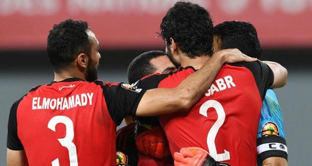 مصر تتأهل لقبل نهائي أمم أفريقيا على حساب المغرب