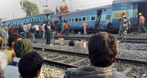 الهند: 27 قتيلا على الاقل في انحراف قطار