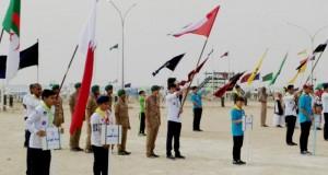 كشافة السلطنة تحقق مراكز متقدمة بمسابقات البولينج والصيحات بمخيم الكويت