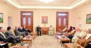 المنذري يستعرض مع رئيس مجلس الشيوخ الكندي والوفد المرافق دور المجلس في العمل التشريعي