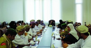 لجنة المتابعة والتقييم لمسابقة كأس الكشاف الأعظم تعقد لقاءها الثاني بمسؤولي المحافظات التعليمية