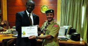 خمسة من قادة كشافة السلطنة يجتازون شهادة الدبلوما الاحترافية للإعلام والاتصال والتسويق
