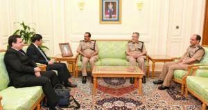 المفتش العام للشرطة والجمارك يستقبل الأمين العام لمنظمة الجمارك العالمية