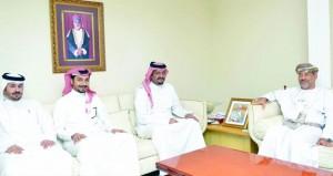 المدعي العام يستقبل وفداً من النيابة العامة بالبحرين