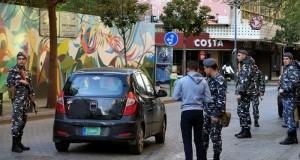 لبنان: احباط هجوم انتحاري استهدف مقهى