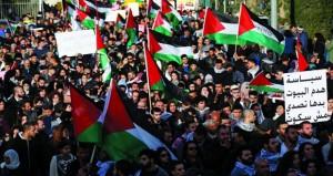 فعاليات فلسطينية رافضة لنقل السفارة الأميركية إلى القدس